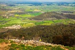 Rural Majorcan landscape Stock Photos