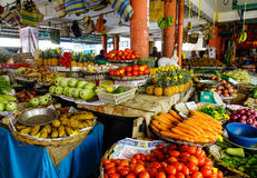 Rural market in Mahebourg, Mauritius Stock Photography