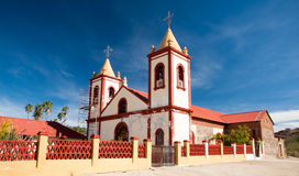 Rural Mexican Church Stock Photo