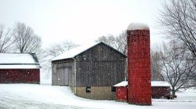 Rural michigan barn Stock Image