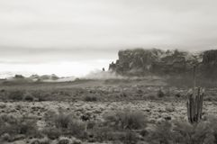 rural mieszkaniowy desert Obrazy Stock
