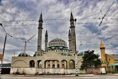 Rural mosque Royalty Free Stock Image