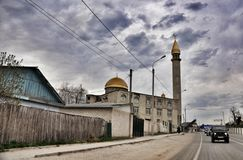 Rural mosque Royalty Free Stock Photos