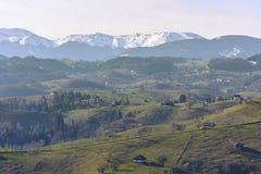 Rural mountain landscape Stock Photos