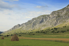 Rural mountaineous landscape Stock Photos