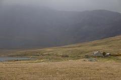 Rural mountainous scenes near Connemara National Park Stock Photography