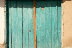 Rural, natural old wooden door Royalty Free Stock Images