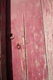 Rural, natural old wooden door Stock Photo