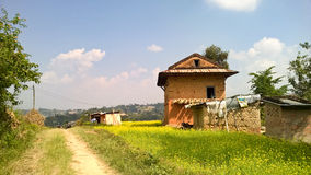 Rural Nepal Countryside Royalty Free Stock Images