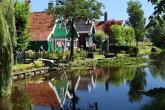 Rural Netherlands Stock Photography