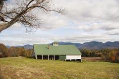 Rural New Hampshire barn Royalty Free Stock Photography