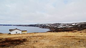 Rural Newfoundland Bay Royalty Free Stock Photos