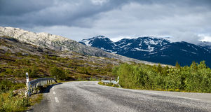 Rural norway Royalty Free Stock Photo