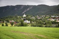 Rural Norway Stock Photography