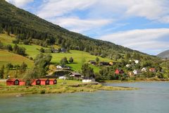 Rural Norway Royalty Free Stock Images