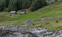 Norwegian landscape Royalty Free Stock Photos