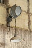 Rural nostalgic lamp Stock Photography
