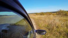 Rural off road. stock video