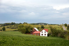 Rural Ontario Homestead - Brighton Stock Photos