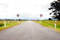 Rural open road Royalty Free Stock Photo