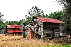 rural opuszczonego domu Zdjęcia Royalty Free