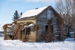 rural opuszczonego domu obrazy royalty free