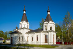 Rural orthodox church Royalty Free Stock Image