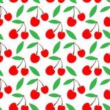 Simple cute seamless vector background of cherries. rural packaging design. cherry jam. Rural packaging design. cherry jam. simple cute seamless vector vector illustration