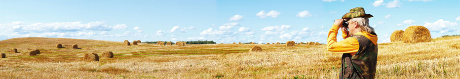 Rural panorama Royalty Free Stock Photos