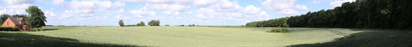 Rural Panorama Royalty Free Stock Photos