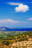 Rural part of Zakynthos island Stock Photography
