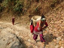 Rural people. At boxa westbengal Royalty Free Stock Photo