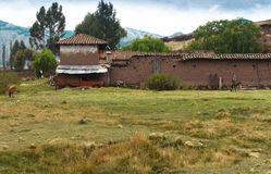 Rural Peru landscape Royalty Free Stock Images
