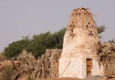 A rural pigeonry at Dakhla Oasis in Egypt Stock Photo