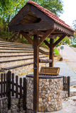 Rural pit Royalty Free Stock Image