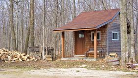 Rural playhouse. Royalty Free Stock Photography