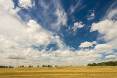 Rural polish view Royalty Free Stock Photo