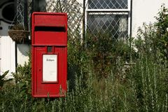 Rural Post Box Stock Image