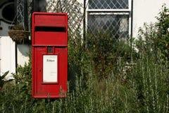 Rural Post Box stock image