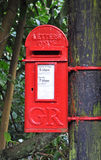 Rural Post Box Royalty Free Stock Photo