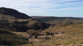 Rural post Stock Image
