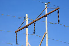 Rural Power Poles Stock Images