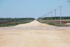 Rural Prairie Road Stock Photos