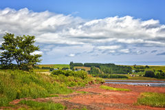 Rural Prince Edward Island Stock Images