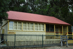 Rural Public Shool, Megalong Valley, Blue Mountains, Australia Royalty Free Stock Photo