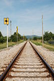 Rural Railway Line 1 Royalty Free Stock Photos