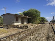 Rural Railway Siding Stock Images