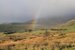 Rural rainbow. Royalty Free Stock Photo