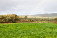 Rural Rainbow Royalty Free Stock Image