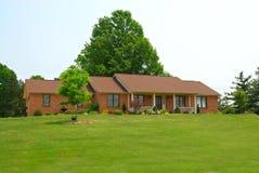 Rural Ranch Home Stock Photo
